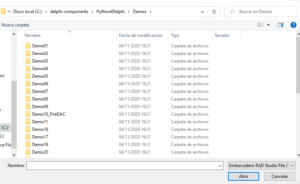 Python4Delphi Demo 1
