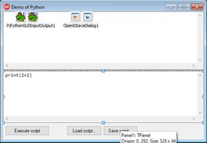 Python4Delphi Demo 3