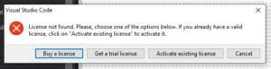 WPA y Electron en TMS Web Core para VS Code - Actualización licencia